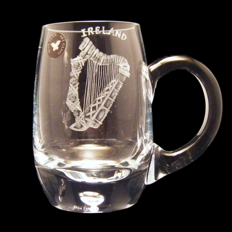 Harp Tankard Glass Piece